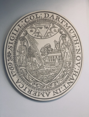 The original seal of Dartmouth!