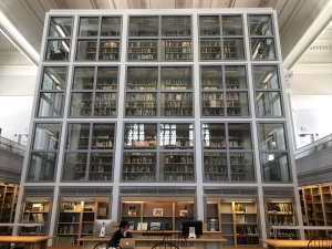 The vast collection of archives housed inside of Rauner Library.