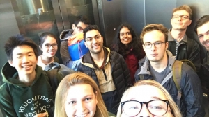 The Debate Team Stuck in an Elevator!