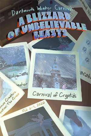 Winter Carnival 2020 poster