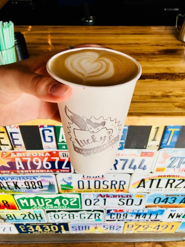 Lucky's Coffee Garage
