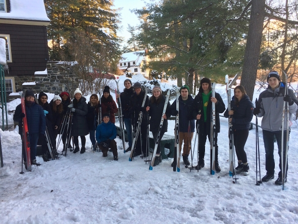 Group ski photo