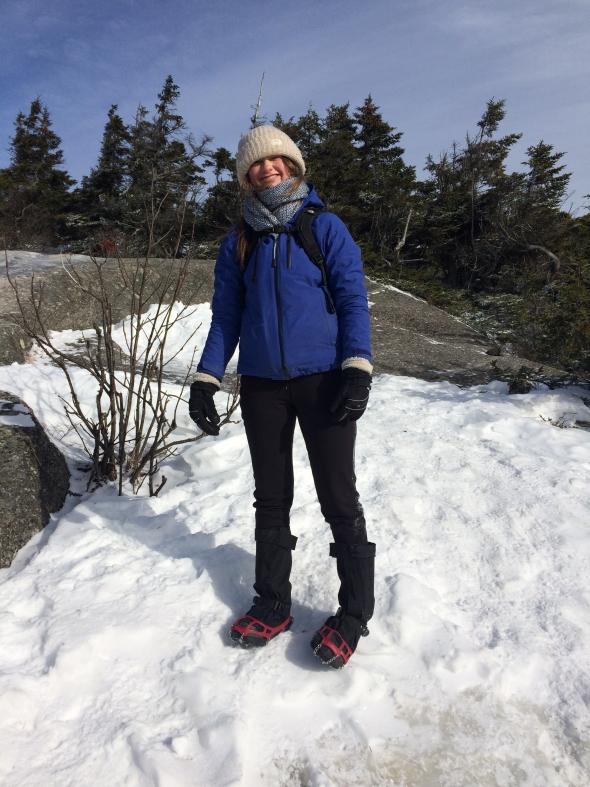 Winter Hiking on Mt. Cardigan