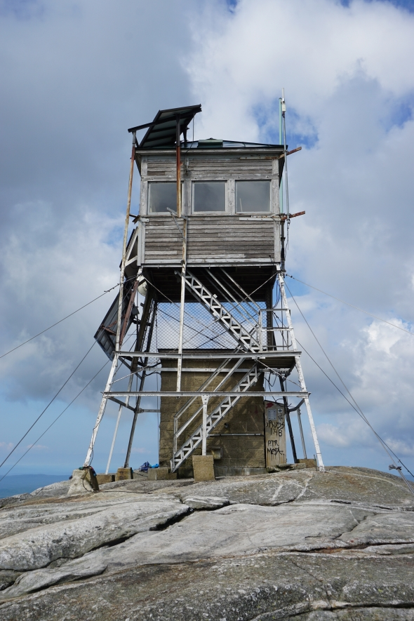 Tower atop Mt. Cardigan