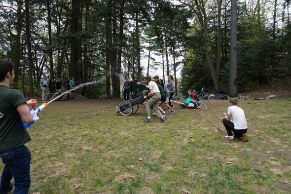 Chariot Race begins
