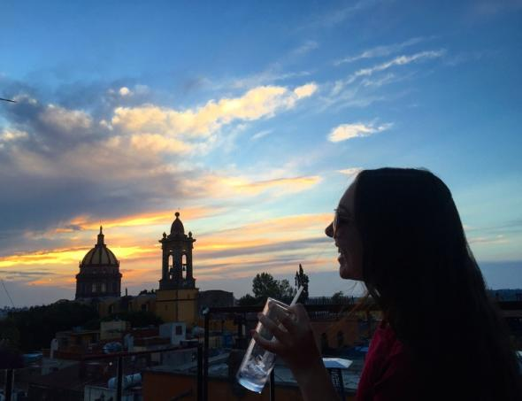 Colleen in Mexico City