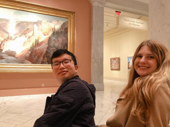 friends in DC museum