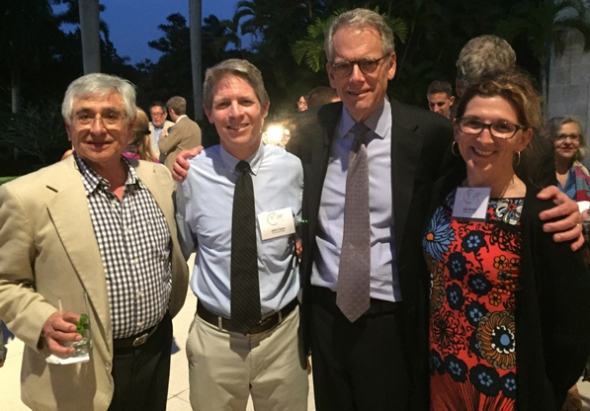 Consortium for Advanced Study Abroad members at the ambassador's residence in Havana