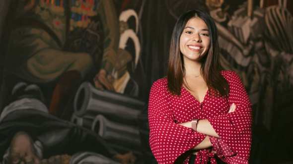 Teresa Juliana Alvarado-Patlán '19 portrait