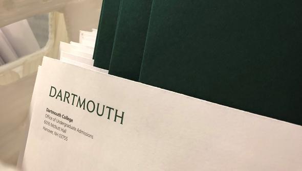 admissions folders