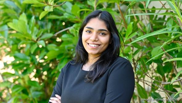 Anjali Chikkula '20 portrait